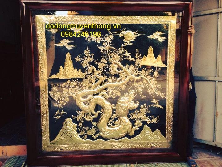 Tranh dong dao the hoa rong ma vang