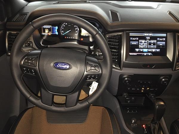 Xe ford ranger 2016 cong bo gia ban hap dan