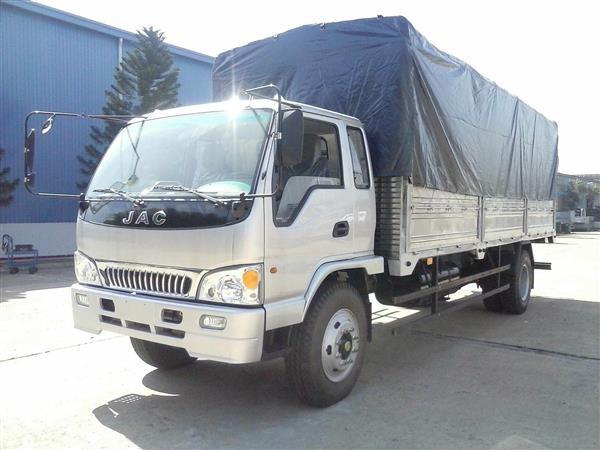Xe tải Jac 8.45 tấn 8.85 tấn 9.15 tấn hỗ trợ trả góp 80% giao ngay xe, thủ tục nhanh chóng, đơn giản