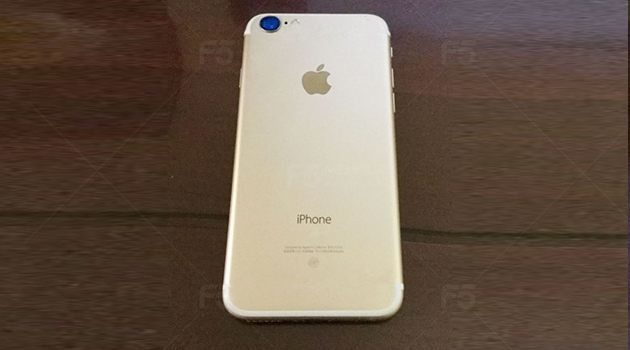 Anh mat sau cua iPhone 7 duoc dang tren mang Baidu cua Trung Quoc