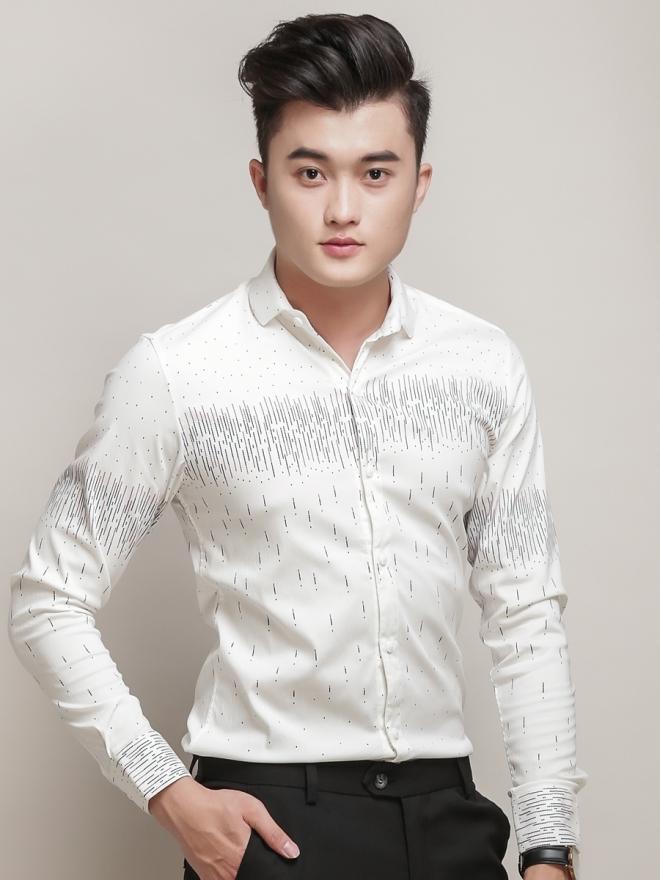 Ao So Mi Hoa Tiet Trang ASM771