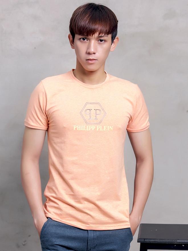Ao Thun Co Tron Cam AT598