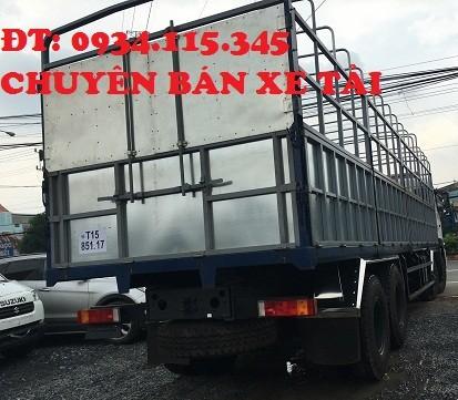 Ban xe tai 4 chan 179 tan Mua xe tai dongfeng L315 2 cau dong co Cumin nhap khau nguyen chiec