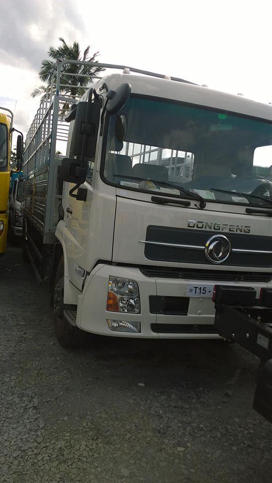 Ban xe tai dongfeng hoang huy 96 tan B170 96 tan ban nang cap moi nhat thung Inox doi 2016