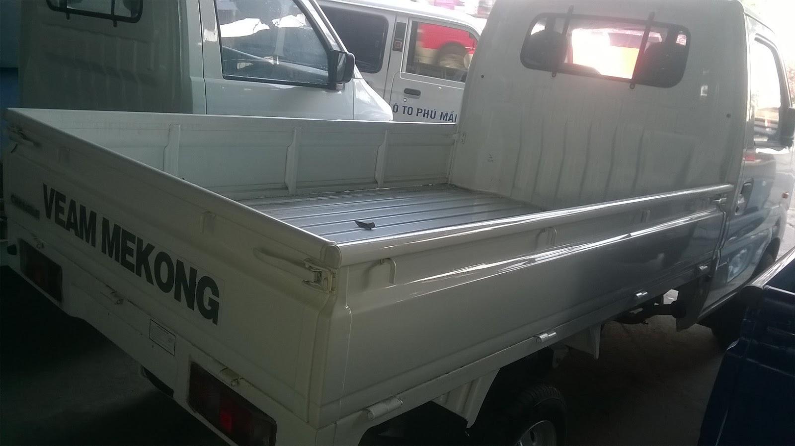 Ban xe tai Veam 860kg 850kg thung bat thung kin giao ngay tai thu duc