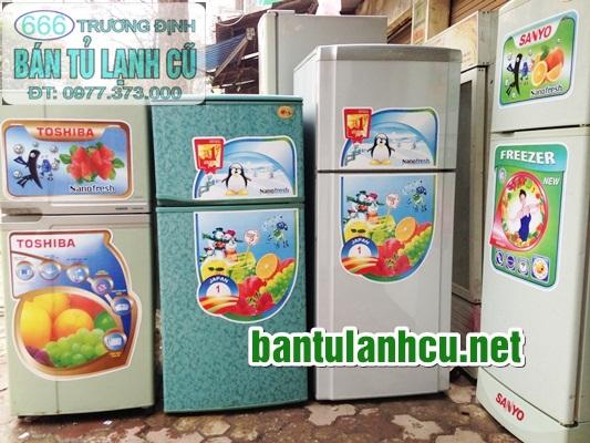 kho tu lanh cu 90 lit tai 666 Truong Dinh HN 0974557043