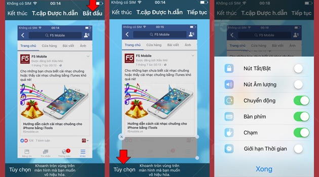 Khoa ung dung tren iPhone ma khong can cai them app