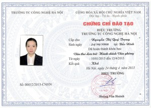 Lop nghiep vu van thu luu tru hanh chinh van phong
