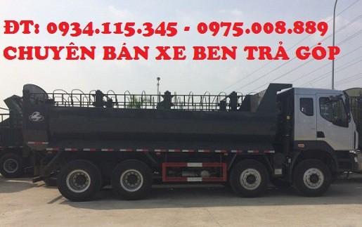 Mua tra gop xe ben chenglong 4 chan 310hp tai trong 175 tan xe moi 2016