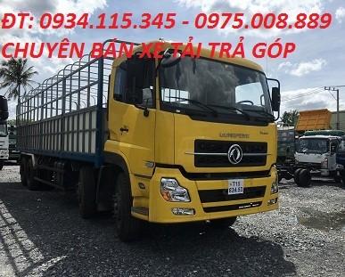Mua tra gop xe tai 4 chan 179 tan DongFeng Hoang Huy L315 may Cumin 2016