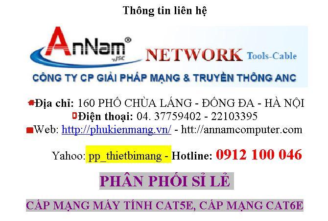 Phan phoi day cap mang amp Cat5e cat6 UTPFTP 4 pair doi Cat6A Chinh hang 8 dong soi to chuan