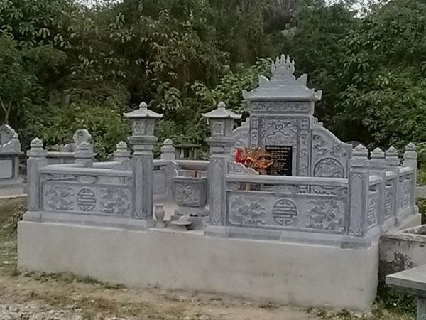 Thi cong lang mo da mo da tai Ha Tinh