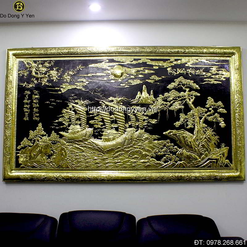 Tranh Dong Thuan Buom Xuoi Gio 2m3