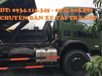 Xe ben Dongfeng 9 Tan 2 ben truong giang 9T2 gia xe ben Dongfeng 92T mua xe ben truong giang 92