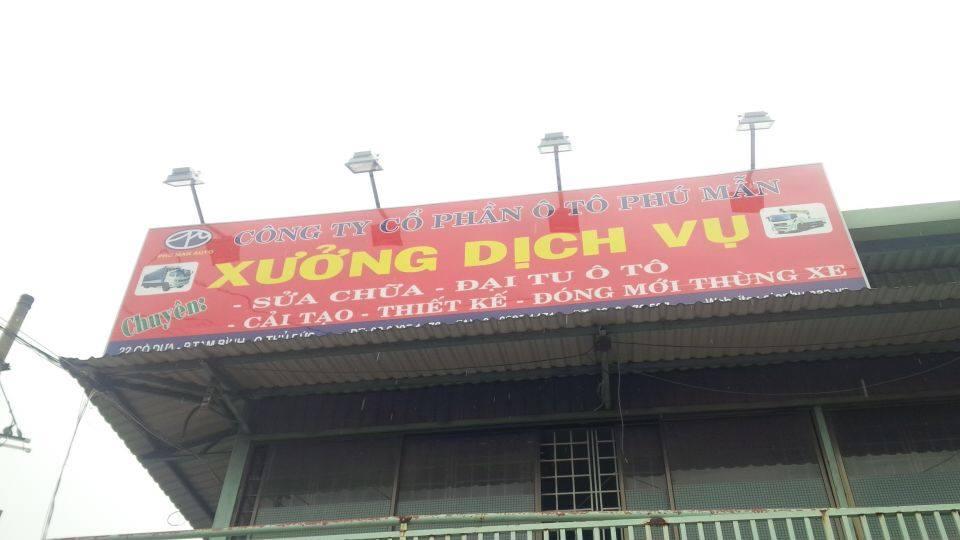 Xe tai Dong thung xe tai khu vuc mien nam
