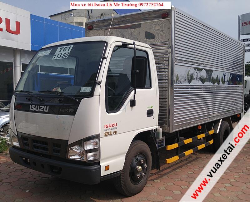 Giới thiệu xe tải  ISUZU 2,2 tấn  ra mắt