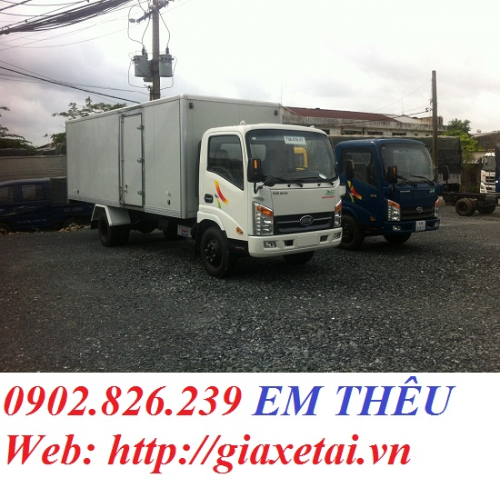 Ban xe tai Veam VT2001 tai trong 19 tan thung bat giao ngay