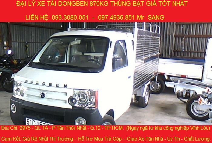 can ban xe tai dongben 870kg xe dongben 870kg xe moi 149 trieu