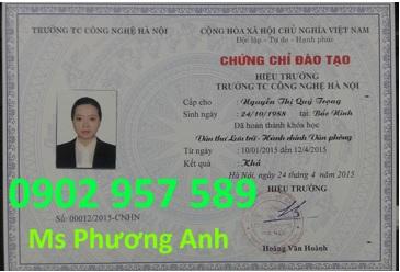 Dao tao chung chi nghiep vu Van thu luu tru Hanh chinh van phong uy tin chat luong