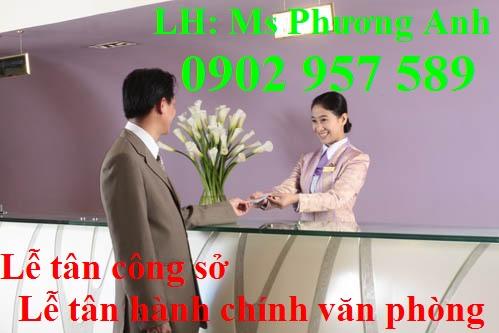 Dia chi dao tao chung chi nghiep vu Le tan cong so le tan hanh chinh van phong o dau uy tin