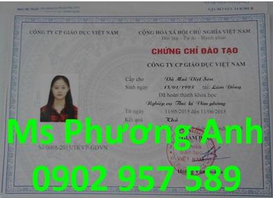 Dia chi dao tao chung chi nghiep vu Thu ky van phong o dau uy tin chat luong