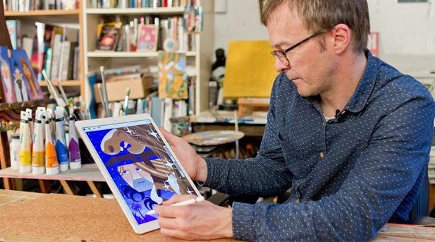 Nhung hinh anh cua chiec iPad Pro 2