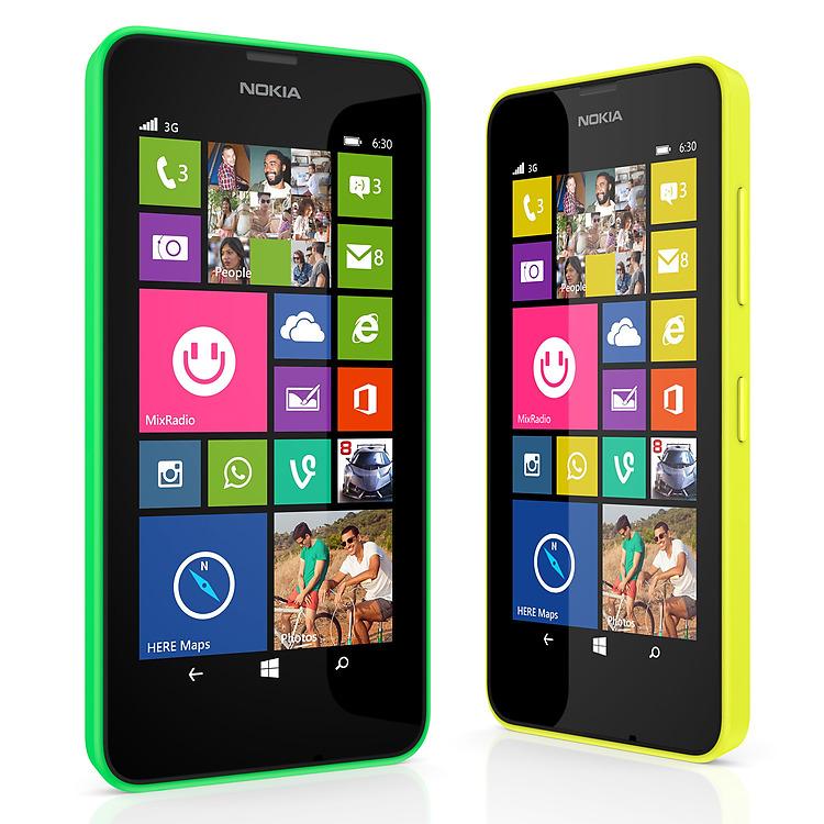Nokia Thay Doi Dien Mao Moi Voi Lumia 630 Windows Phone Dau Tien