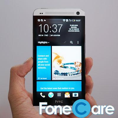 Thay man hinh HTC One X cam ket co xuat xu ro rang khi thay the lay lien gia thap