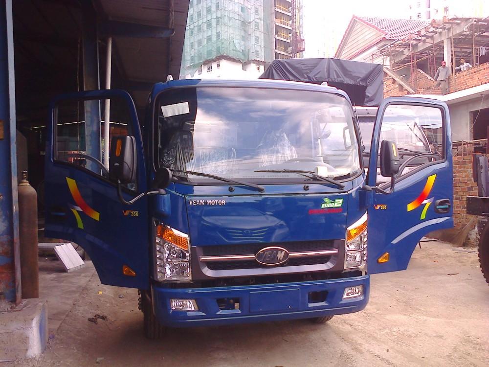 Xe tai Veam 19 tan 2 tan thung dai 6m may Hyundai Veam Hyundai 1T9 2T VT260 tra gop tien mat