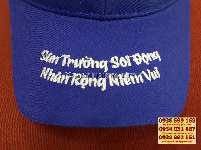 Xuong may non uy tin chat luong gia canh tranhnoi in non gia re may non qua tang Lam non su kien
