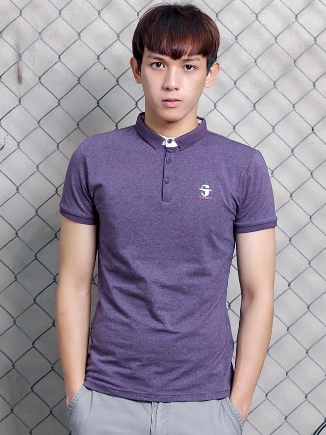 Ao Thun Co Co Tim AT599