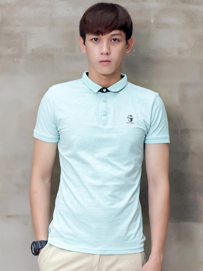 Ao Thun Co Co Xanh Ngoc AT599