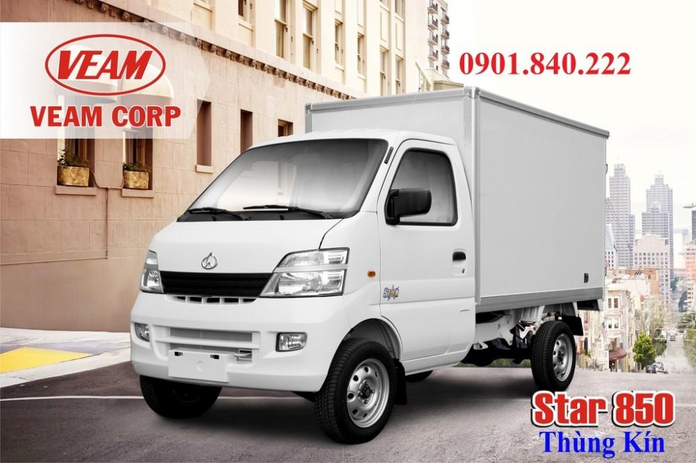 Can ban gap xe tai Changan 850kg Changan 850 ky xe may xang doi 2016
