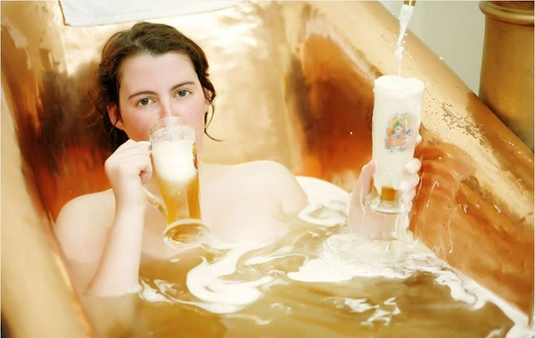 Cong dung tuyet voi cua bia trong viec lam dep