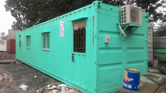 Container Van Phong Duoc Tao Thanh Tu Container Kho Nhu The Nao