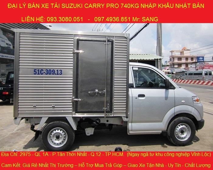 gia xe tai suzuki 740kg xe tai suzuki 740kg gia cuc re