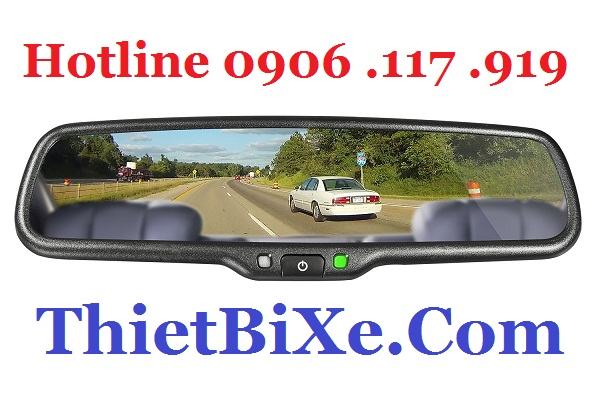 Man Hinh Guong iMirror OEM co GPS Bluetooth 2016