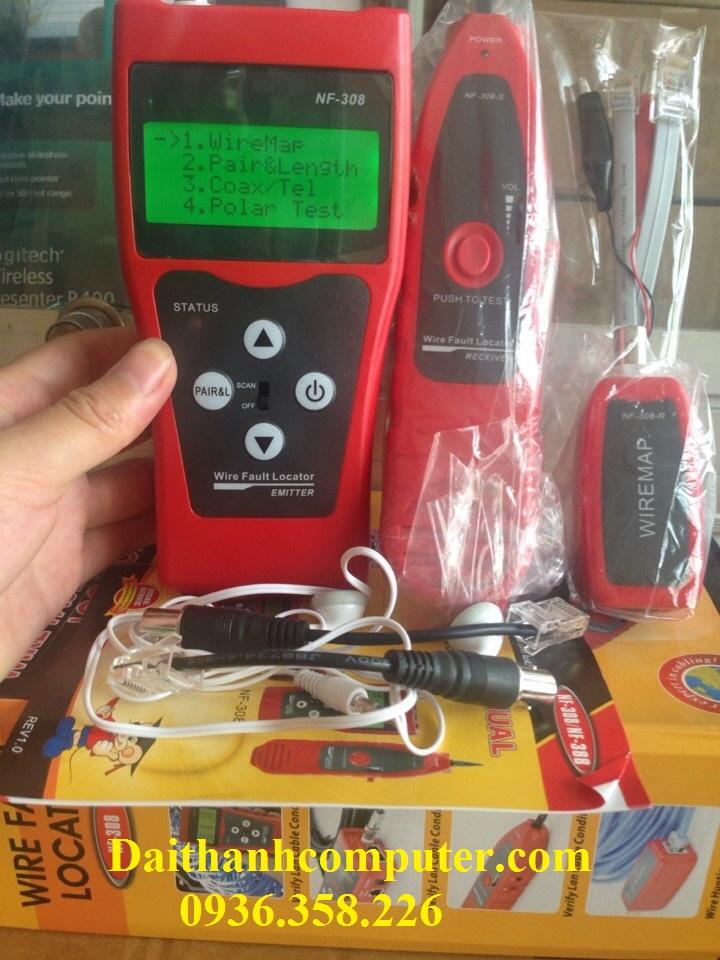 Test mang NF308 hang chinh hang NAYOFA
