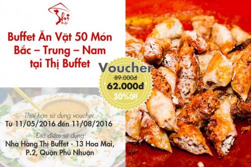 Unimedia tang voucher buffet giam gia cac nha hang tai TPHCM
