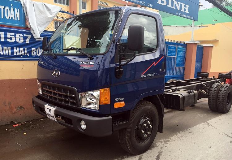 Ban xe tai veam hd800 8 tan tai Binh Duong xe tai veam 8t hd800
