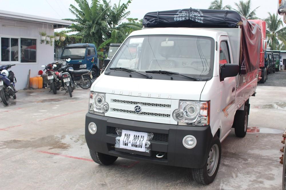 Chuyen ban xe tai nho Dongben xe tai Dongben 700kg 800kg 870kg bao hanh 2 nam tra truoc 40 trieu