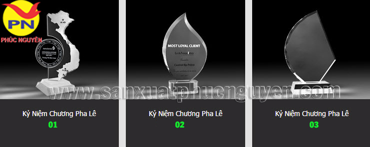Co so san xuat cup phale ky niem chuong phale qua de ban phale gia re