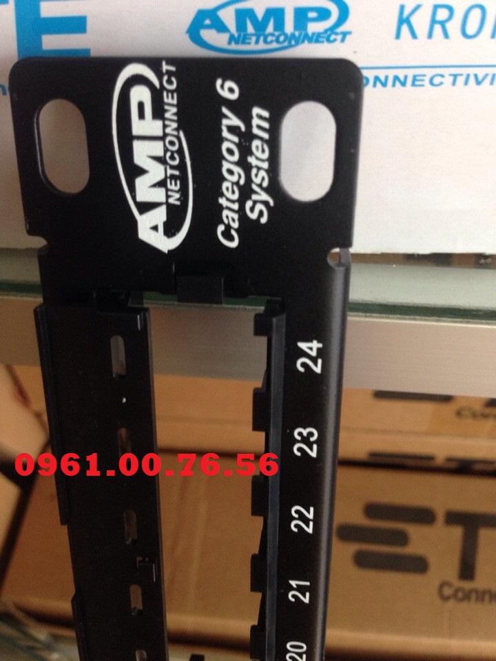 Patch Cord Cat6 UTP Hat bam mang RJ45 Cat6Patch Panel 2448 Cong Cat5 Cat6 AMP