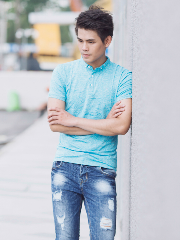 Ao Thun Co Co Xanh Ngoc AT627