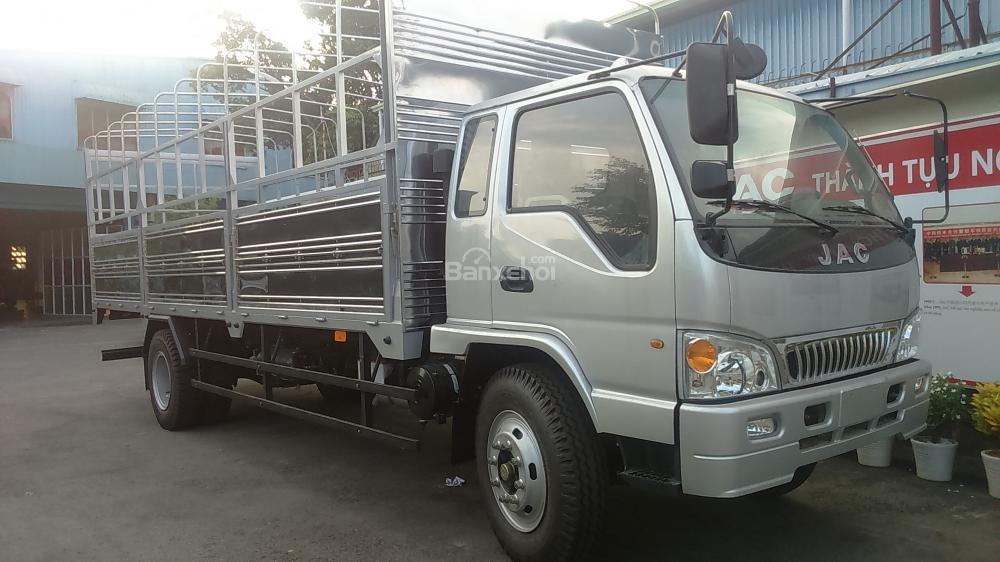 Can ban xe tai Jac 85 tan8T585T85 tan thung dai 7m3 cong nghe Isuzu Nhat Ban bao hanh 3 nam