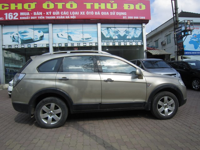 Chervrolet Captiva Maxx MT 2010 Form moi