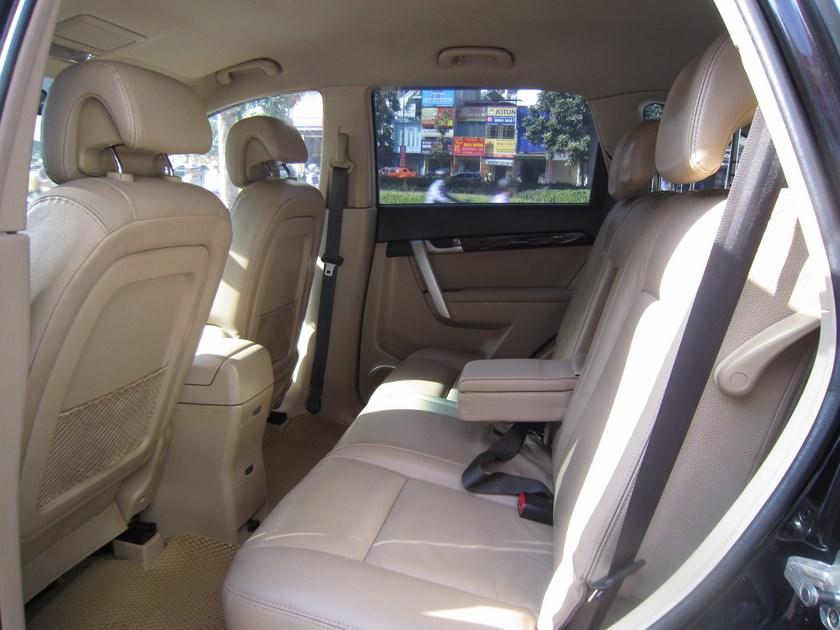 Chevrolet Captiva LT 2009 mau den