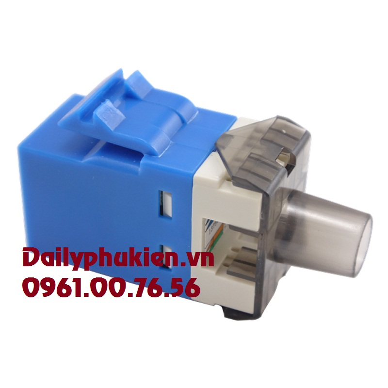 Dau chup hat mang RJ45 00272354x Boot Modular Plug RedBlueYellowModul jack AMP RJ45