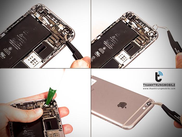 Ngac nhien voi qua trinh thay main iPhone 6 chi 48 phut va muc gia re o quan Thanh Xuan