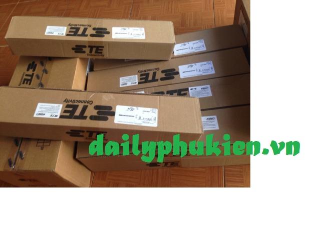 Phan phoi Truc tiepThanh dau noi cap mang Cat5e AMPPatch panel amp 2448 Cong Cat5e Cat6